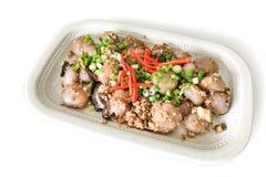 La portion du plat chinois populaire délicieux de Hakka appelé abaque voient Photographie stock