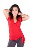 La pose du modèle Photo stock