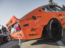 La position lutte - Seattle - Datsun Photos stock