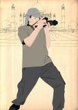 La position trouve une photo Photographie stock