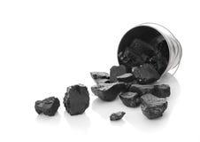 La position zinked avec du charbon photos libres de droits