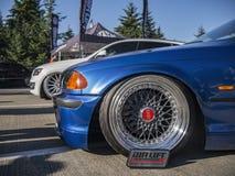 La posizione fa la guerra - Seattle - BMW Immagini Stock