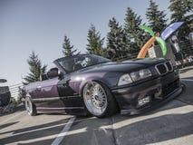 La posizione fa la guerra - Seattle - BMW Fotografie Stock