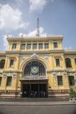 La posta centrale Ho Chi Minh City (Saigon) Fotografia Stock Libera da Diritti