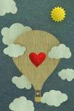 La postal de Valantine ilustración del vector