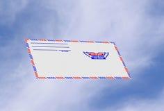 La poste aérienne image libre de droits