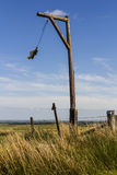 La potence, Elsdon, le Northumberland, Angleterre, R-U photographie stock