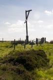 La potence, Elsdon, le Northumberland, Angleterre, R-U photo libre de droits