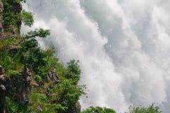 La potencia de Niagara Falls Fotos de archivo libres de regalías