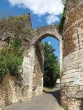 La poterne de l'église de Saint-Étienne Photo stock