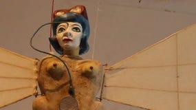 La poupée de marionnette est une oeuvre d'art merveilleuse images stock