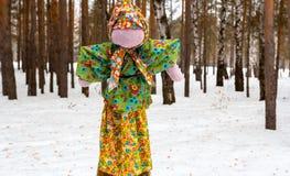 La poupée pour le carnaval Image libre de droits