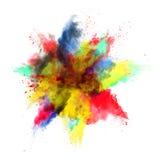 La poussière colorée illustration de vecteur