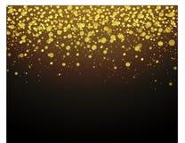 La poussière d'or d'éclat pour la conception - vecteur illustration de vecteur