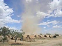 La poussière dans le vent Photos libres de droits