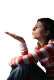 La poussière de soufflement 1 Photographie stock libre de droits