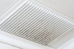 La poussière de ventilation Images libres de droits