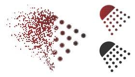 La poussière Dot Halftone Spray Tool Icon Illustration de Vecteur