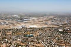 La poussière en conditions atmosphériques de vent Photos libres de droits