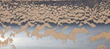 La poussière sur les voitures comme contexte Image stock