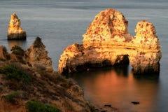 La Praia fa la luce di Camilo di mattina fotografia stock libera da diritti