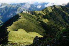 La prairie sur la montagne de Taïwan Photos stock