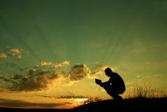 La preghiera Fotografia Stock