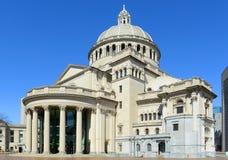 La première église du scientifique de Christ, Boston, Etats-Unis Photos stock