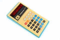 La première calculatrice programmable soviétique Elektronika B3-21 Photographie stock libre de droits