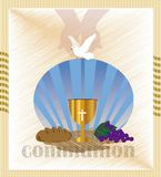 La première communion, ou première sainte communion Photos libres de droits