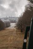 La première neige Photos libres de droits