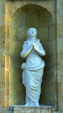 La première prière de sculpture photos libres de droits