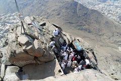 La première révélation est venue à la caverne où le prophète Muhammad Photos stock