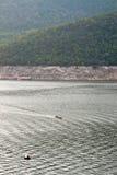 La presa de Bhumibol en Tailandia. Fotografía de archivo libre de regalías