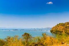 La presa hermosa en Tailandia Foto de archivo
