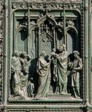 La presentación de Jesús en el templo Foto de archivo