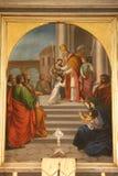 La presentazione di Gesù al tempio Immagini Stock Libere da Diritti