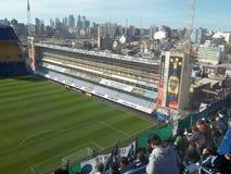 La previa del partido. Bombonera-buenos aires,capital federal,argentina Royalty Free Stock Image