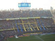 La previa del partido. Bombonera-buenos aires,capital federal,argentina Royalty Free Stock Photography