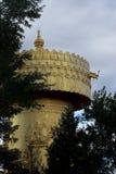 La prière de Budhha roulent dedans la ville de Shangri-La Photos stock