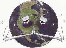 La prière de la terre Illustration Libre de Droits