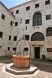 La prigione del palazzo del ` s del doge dei cavi Immagine Stock