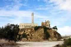 La prigione di Alcatraz a San Francisco, U.S.A. Fotografia Stock