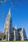 La prima chiesa di Otago a Dunedin, Nuova Zelanda Immagini Stock