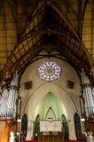 La prima chiesa di Otago a Dunedin, Nuova Zelanda Fotografia Stock