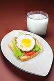 La prima colazione Fotografie Stock