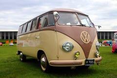 La prima generazione del tipo di Volkswagen - 2, hanno chiamato senza formalità il Microbus fotografia stock