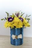 La primavera dei fiori colora la natura Fotografia Stock