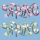 La primavera escribe Foto de archivo