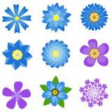 La primavera florece el ejemplo del vector Imágenes de archivo libres de regalías